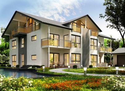 Mehrfamilienhaus bauen dalk for Mehrfamilienhaus modern bauen