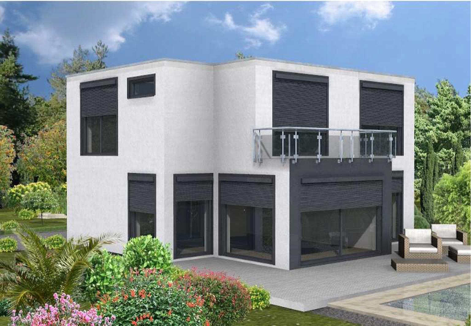 Haus a einfamilienhaus dalk for Klassische moderne
